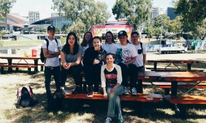Certificate III in Music Industry (Intro to Music Event Management) students at Royal Croquet Club